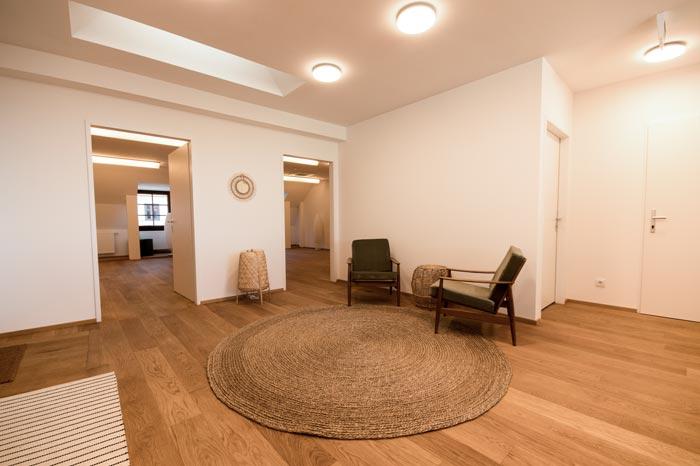 Therapiezentrum beim Schloss - Warteraum Yogastudio